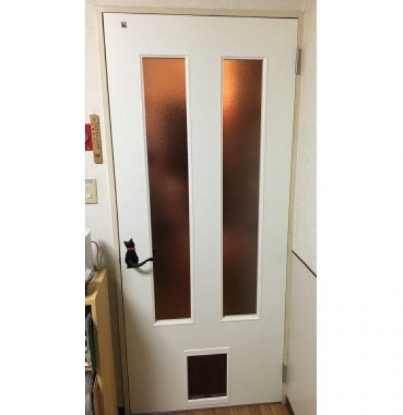 ペットくぐり戸1